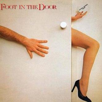 Foot in the Door (album) - Image: Foot in the Door (LP) by Russell Morris