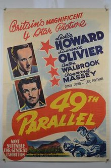 Image result for 49th parallel movie