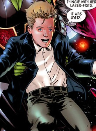 Franklin Richards (comics) - Image: Franklin richards