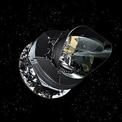 Front view of the European Space Agency Planck satellite.jpg