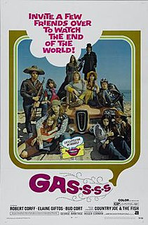 <i>Gas-s-s-s</i> 1970 film by Roger Corman