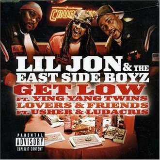 Get Low (Lil Jon & the East Side Boyz song) - Image: Get Low (Lil Jon & the East Side Boyz single cover art)