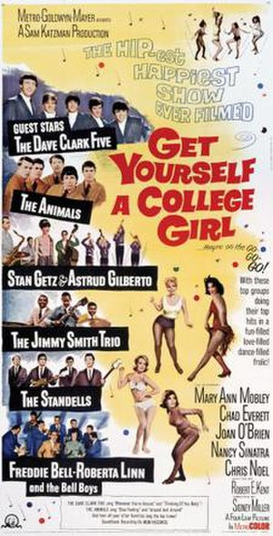Get Yourself a College Girl - Image: Get Yourself a College Girl Film Poster