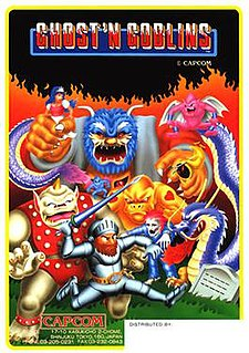 <i>Ghosts n Goblins</i> (video game) video game
