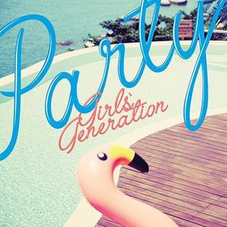 Party (Girls' Generation song) - Image: Girls' Generation Party (single cover)