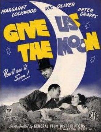 Give Us the Moon - Original British film poster