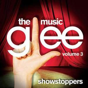 Glee: The Music, Volume 3 Showstoppers - Image: Gleev 3