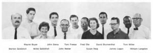 Morton Goldsholl Associates - staff of Morton Goldsholl Associates in 1963