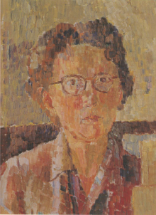 Grace Cossington Smith - self-portrait - 1948