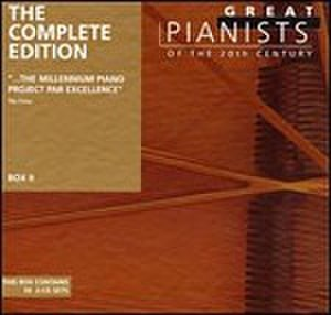 Great Pianists of the 20th Century - Image: Great Pianists of the 20th Century Complete Edition Cover Art Brendel site