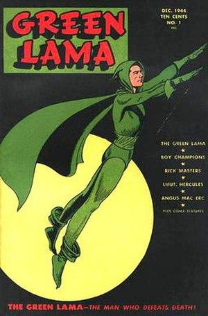 Green Lama - Image: Green Lama