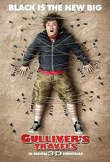 <i>Gullivers Travels</i> (2010 film) 2010 film by Rob Letterman
