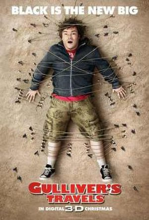 Gulliver's Travels (2010 film) - Theatrical release poster