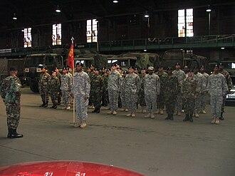 1st Battalion, 258th Field Artillery (United States) - Image: HHB 1 258 FA