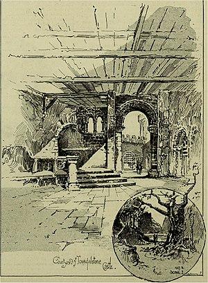 Hawes Craven - Craven's scenery for Ivanhoe, 1891