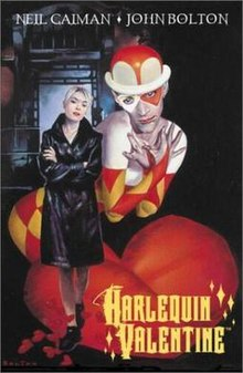 Image result for Harlequin valentine