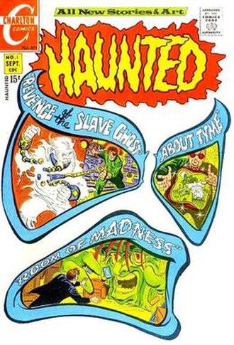 Haunted (comics) - Image: Haunted 01