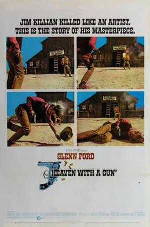 Heaven with a Gun - Theatrical release poster