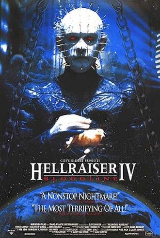 Hellraiser: Bloodline - Promotional movie poster