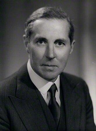 Henry Brooke, Baron Brooke of Cumnor - Image: Henry Brooke MP in 1950