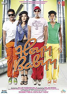 Download Heyy Babyy (2007) Hindi Movie 480P | 720p