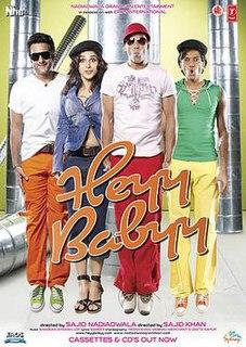 <i>Heyy Babyy</i> 2007 film by Sajid Khan