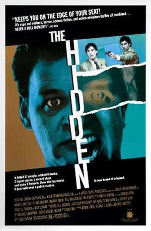 The Hidden (film) - Theatrical release poster