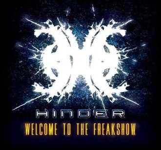 Welcome to the Freakshow (Hinder album) - Image: Hinder Welcome To The Freakshow