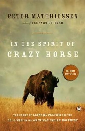 In the Spirit of Crazy Horse - Image: In the Spirit of Crazy Horse book cover