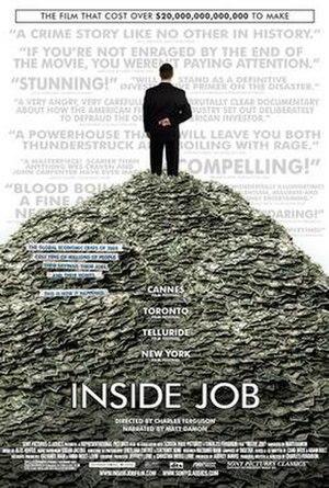 Inside Job (2010 film) - Image: Inside Job 2010Poster