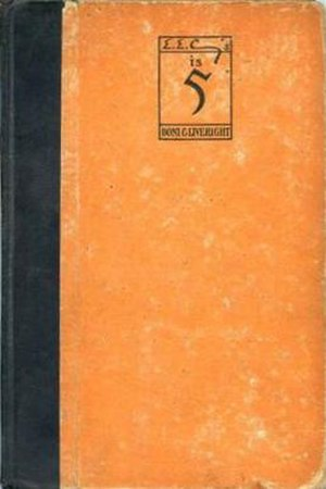 Is 5 - First edition (publ. Boni & Liveright)