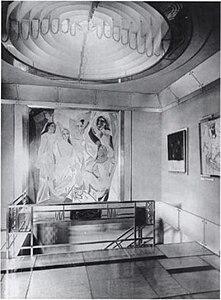 Jacques Doucet's hôtel particulier, 33 rue Saint-James, Neuilly-sur-Seine, 1929 photograph Pierre Legrain