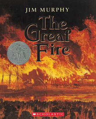 The Great Fire (children's novel) - Image: Jim murphy the great fire book cover