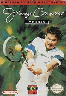 <i>Jimmy Connors Tennis</i> 1993 tennis video game