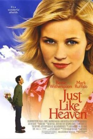 Just like Heaven (film) - Theatrical release poster