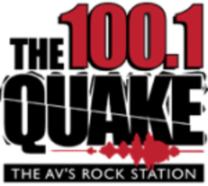 KKZQ - Image: KKZQ FM 1001 The Quake logo