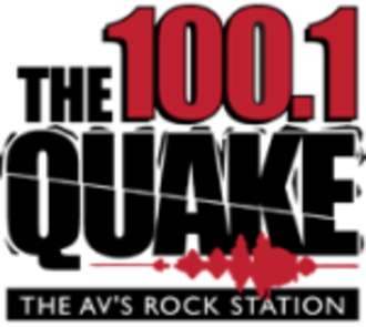 KKZQ - Image: KKZQ FM 1001 The Quake logo