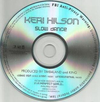 Slow Dance (song) - Image: Kerihilson Slowdancecover