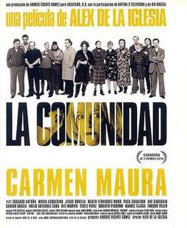 <i>La comunidad</i> (film) 2000 film by Álex de la Iglesia