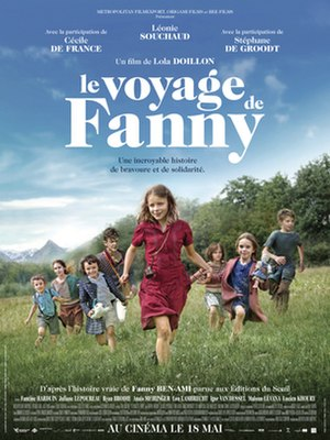 Fanny's Journey - Theatrical release poster