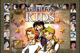 Liberty's Kids - Liberty's Kids title card