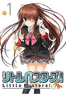 Cover Art Of The First BD DVD Compilation Volume Released By Warner Home Video Featuring Main Character Rin Natsume