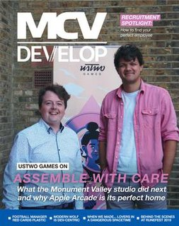 <i>MCV/Develop</i> British trade magazine that focuses on the video game industry