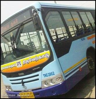 Metropolitan Transport Corporation (Chennai) - MTC's Tata Marcopolo Bus