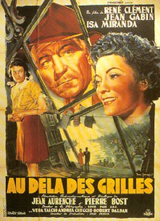 The Walls of Malapaga - Original French film poster