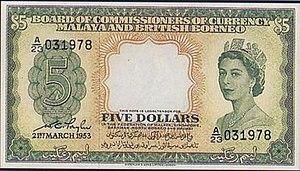 Malaya and British Borneo dollar