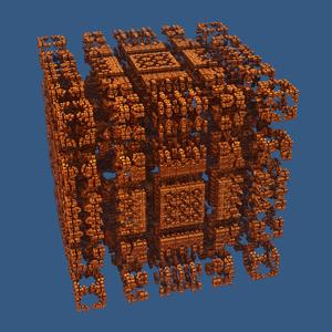 Mandelbox - A 'scale 3' Mandelbox