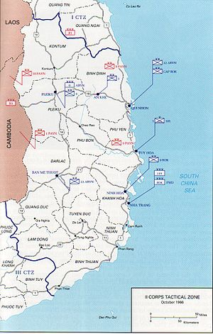 Battle of Dak To - The II Corps Tactical Zone, the Central Highlands of South Vietnam