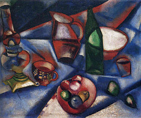 Marc Chagall: Csendélet (1912)