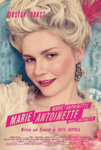 Marie Antoinette (2006 film) - Theatrical release poster